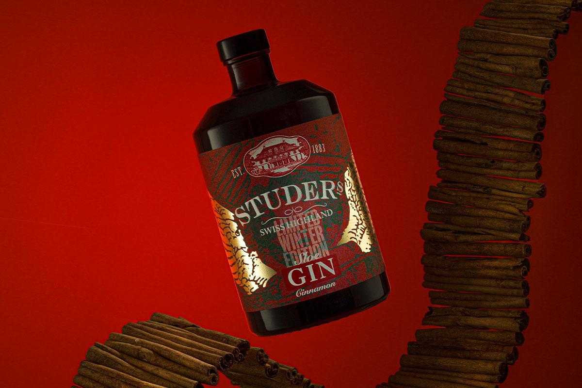 Der Swiss Highland Sloe Gin «Cinnamon» ist wieder erhältlich